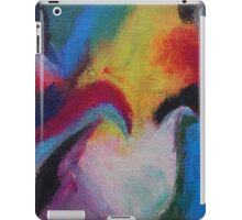 """Azzurro"" original abstract artwork by Laura Tozer iPad Case/Skin"