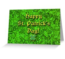 Emerald St. Patrick's Day Greeting Card