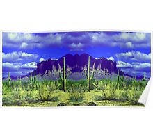 Superstition Mountain Poster Poster
