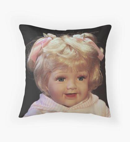 doll 1 Throw Pillow