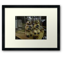 They're everywhere Framed Print