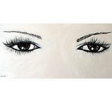 Eyes/Black Photographic Print