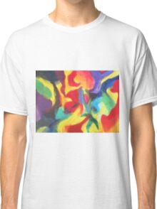 """""""Touch of Madness"""" original abstract artwork by Laura Tozer Classic T-Shirt"""