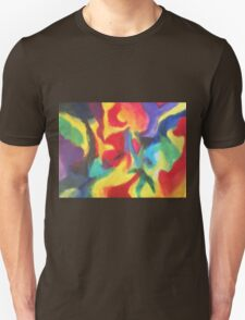 """Touch of Madness"" original abstract artwork by Laura Tozer Unisex T-Shirt"