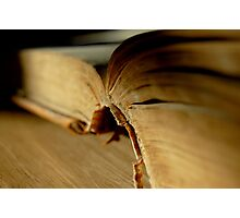 Like An Open Book Photographic Print