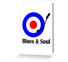 Blues and Soul Greeting Card