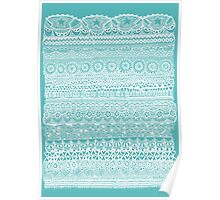 Layer Cake Blue Poster