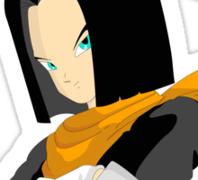 Dragonball Z Android 17 Sticker