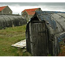 Boat Sheds Photographic Print