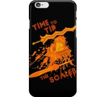 time to tip the scales! iPhone Case/Skin
