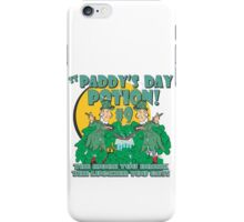 St Paddy's Day Potion #9 iPhone Case/Skin