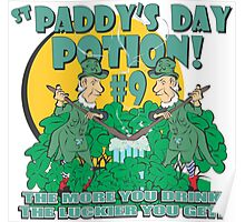 St Paddy's Day Potion #9 Poster