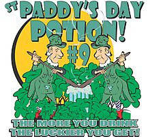 St Paddy's Day Potion #9 Photographic Print