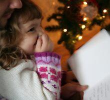 Christmas Morning Joy by Mike Whitman