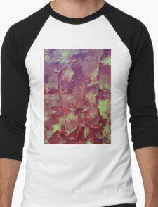 """Hazardous"" original abstract artwork by Laura Tozer Men's Baseball ¾ T-Shirt"
