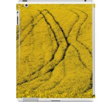 yellow fields iPad Case/Skin