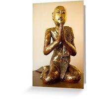 Disciple of the Buddha II - 1 Greeting Card