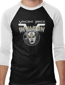 Vincent Price Invasion Men's Baseball ¾ T-Shirt