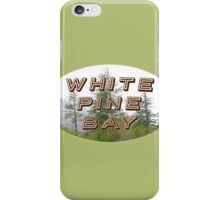 "Bates Motel ""White Pine Bay"" iPhone Case/Skin"