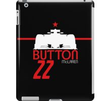 Jenson Button 2015 - White iPad Case/Skin