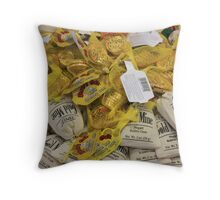 My Kind of Gold Mine Throw Pillow