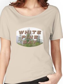 "Bates Motel ""White Pine Bay"" Women's Relaxed Fit T-Shirt"