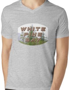 "Bates Motel ""White Pine Bay"" Mens V-Neck T-Shirt"