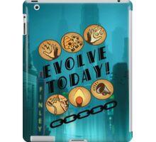 Evolve Today! (Splatter) iPad Case/Skin