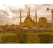 beirut mosque Photographic Print