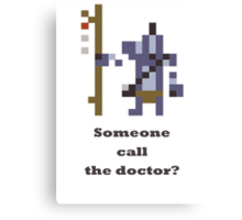 Witch doctor - Someone call the doctor? Canvas Print