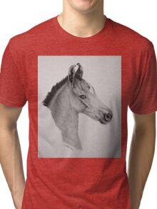 """""""Precious Little One"""" - Marwari Colt Tri-blend T-Shirt"""