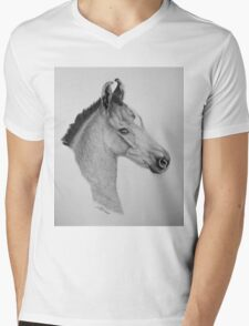 """Precious Little One"" - Marwari Colt Mens V-Neck T-Shirt"
