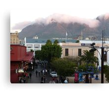 Downtown Capetown, South Africa Canvas Print
