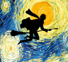 Harry Potter's Starry Night  Sticker