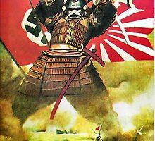 Japanese Propaganda Poster : WW2 World War 2 : WWII  by verypeculiar