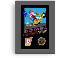 ExciteVespa Canvas Print