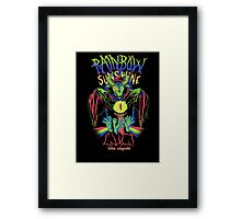 Rainbow Sunshine Cult Framed Print