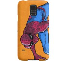 Does whatever a spider can... Samsung Galaxy Case/Skin