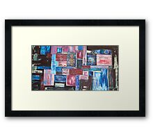 Intellectual travel Framed Print