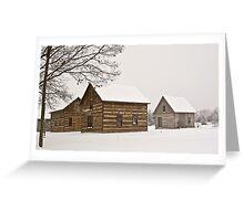 ~ Winter on Salt Pork Avenue.~ Greeting Card