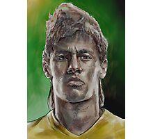 Neymar Photographic Print
