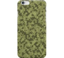 Green Camouflage Pattern 2 iPhone Case/Skin