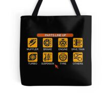 Gran Turismo 2 Tune Menu Tote Bag