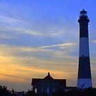 LIghthouse - Fire Island by Mark Wuttke