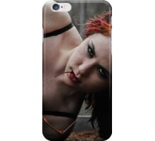 A Fire In Her Soul (and Flames In Her Hair) iPhone Case/Skin