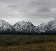 Teton Range by Mark Wuttke