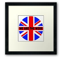 We are the mods Framed Print