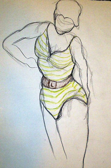 CLOTHED FIGURE DRAWING 8 by Tammera