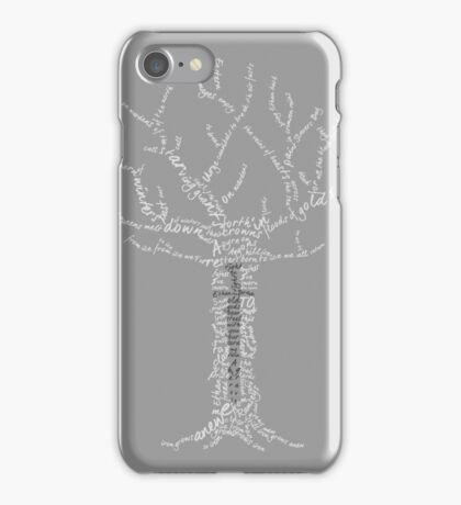 Ballad of the Forresters (dark) iPhone Case/Skin