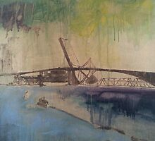 Acosta Bridge - Jacksonville, FL. by paulkerrigan